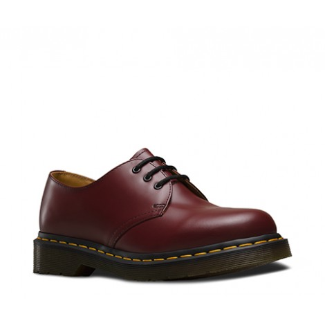 1461 SMOOTH CHERRY RED UNISEX DR MARTENS 10085600